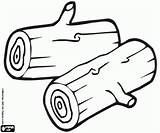 Coloring Logs Paar Tree Madera Printable Scheite Holz Troncos Tronchetti Drawing Legna Colorear Oncoloring Dibujos Pintar Drzewo Malvorlagen Baum Drewna sketch template