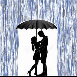 couple under umbrella stencil - Google Search   DIY ...