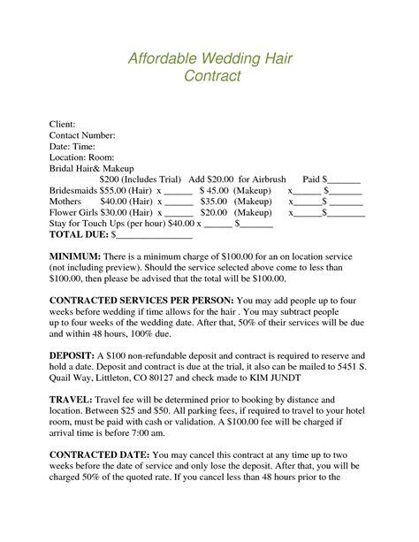 Wedding Florist Contract Template by Wedding Flower Contract Wedding Image Pkeqqjwa