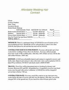 Bridalhaircotract Austin Wedding Hair And Makeup Contract