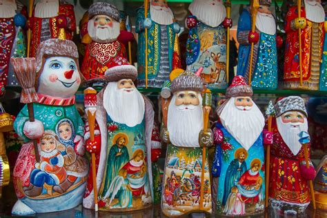 father frost  traditional russian handicraft