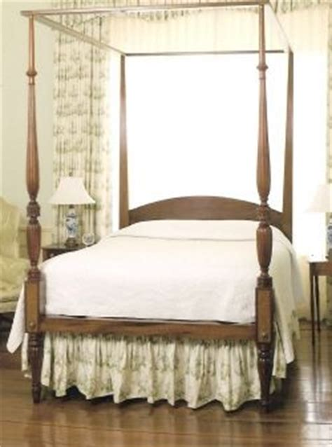 hand crafted federal style  poster bed  cornerstone