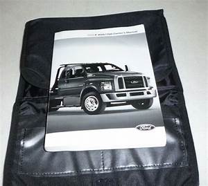 2016 Ford F650 F750 F 650 750 Owners Manual Set Guide 16 W