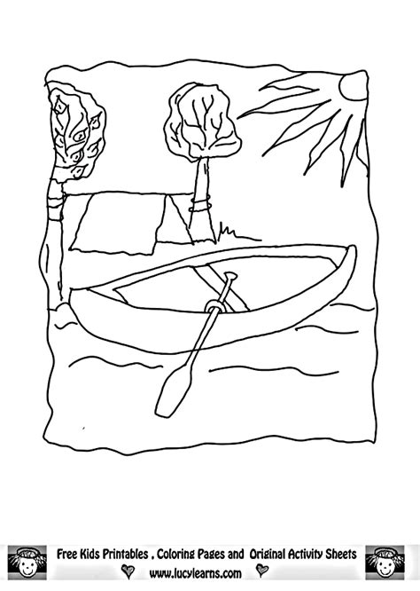coloring pages summer camp coloring home