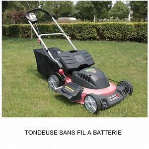 Tondeuse Electrique Batterie : tondeuse tractee sans fil a batterie 24 v rmak 22002 ~ Premium-room.com Idées de Décoration