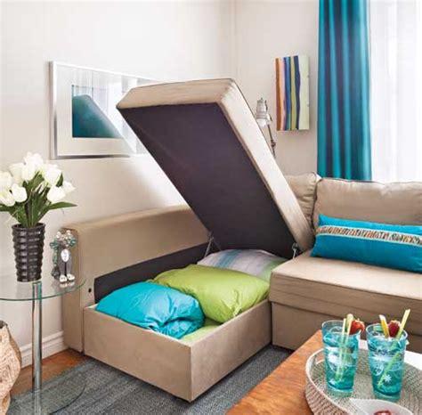 canapé lit petit espace comment meubler les petits espaces trucs et conseils