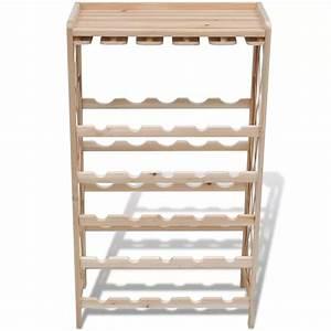 Casier à Bouteilles En Bois : la boutique en ligne casier bouteille en bois 25 places ~ Teatrodelosmanantiales.com Idées de Décoration