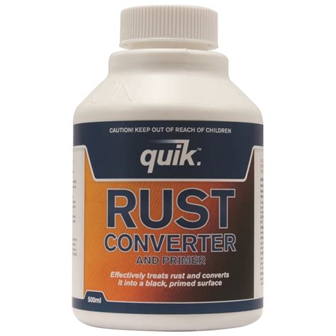 rust converter primer quik remover 500ml bunnings
