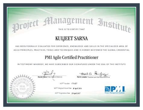 pmi acp certificate