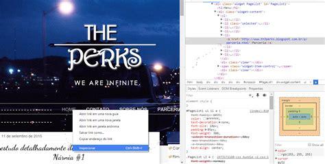 templates prontos em html e css the perks a antiga magia do tutorial de menu
