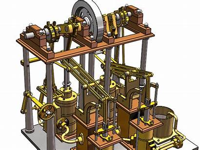 Steam Engine 3d Inventions Changed Chambers Gorgon