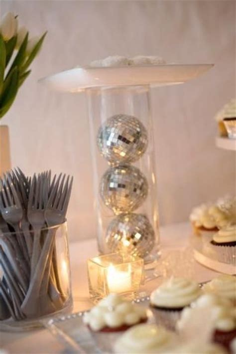 sparkling disco ball decor ideas  winter parties