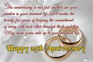25th wedding anniversary wishes 25th wedding anniversary wishes messages quotes images for whatsapp picture sms