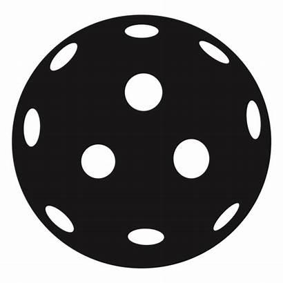 Pickleball Ball Bola Transparent Svg Silhouette Symbol