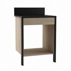 meuble haut pour four encastrable dootdadoocom idees With meuble pour four encastrable en hauteur