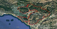 Thomas Fire spreads into Santa Barbara County - Wildfire Today