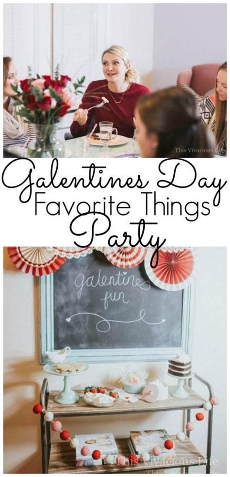 Galentines Day Favorite Things Party for Your Favorite Gal ...