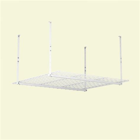 hyloft 45 x 45 ceiling storage unit hyloft 45 in w x 45 in d garage ceiling storage unit in