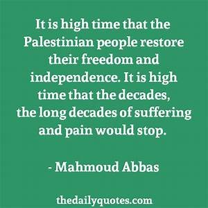 Quotes About Palestine Freedom. QuotesGram