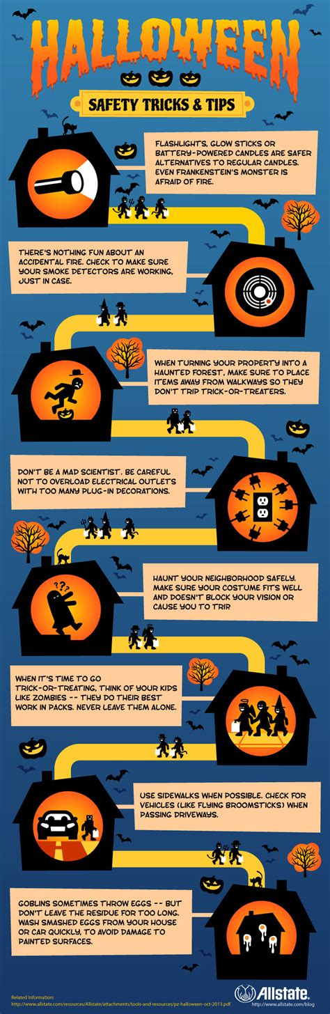 halloween safety tricks tips pictures