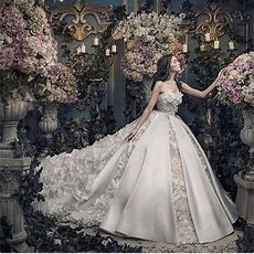 2016 Sweetheart Sleeveless Wedding Dresses Organzasatin
