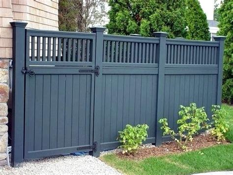 front privacy fence front garden fencing ideas exhort me