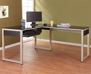 Shaped Computer Desk Keyboard Tray Babytimeexpo Furniture Best L Shaped Computer Desk With Hutch