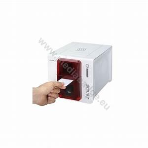 Imprimante Carte Pvc : imprimante cartes evolis zenius pour cartes pvc badges ~ Dallasstarsshop.com Idées de Décoration
