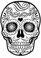 Sugar Skull Skulls Coloring Mindfulness Colouring Dead Teacherspayteachers Unavailable Paper Representation During sketch template