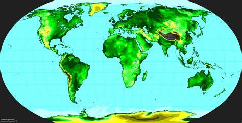 world elevation map roundtripticketme