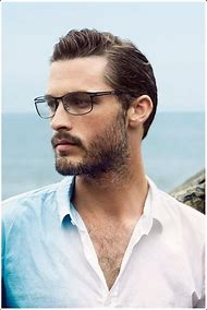 Glasses for Men with Beards