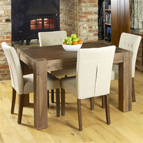 strathmore solid walnut furniture small dining table