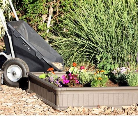 lifetime raised garden bed  pack kit  enclosure