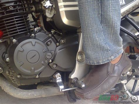 Motorcycle Gear Lever Modification