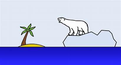 Climate Change Clipart Polar Bear Clip Data