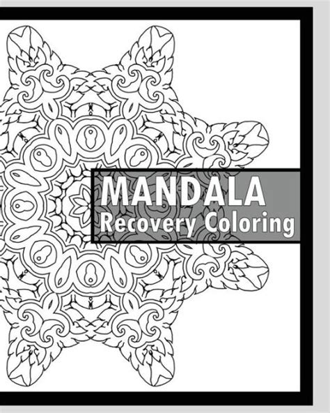 recovery coloring book    mandala coloring