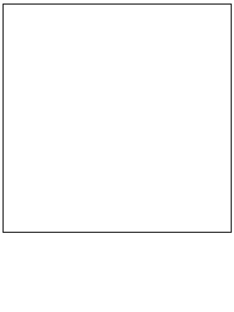 Printable Square Simple-shapes Coloring Pages