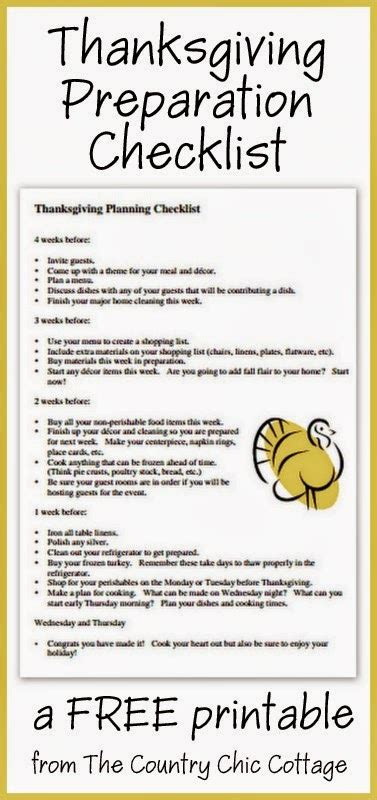 thanksgiving preparation checklist with bissell the