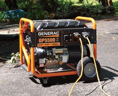 shipping generac gp portable generator