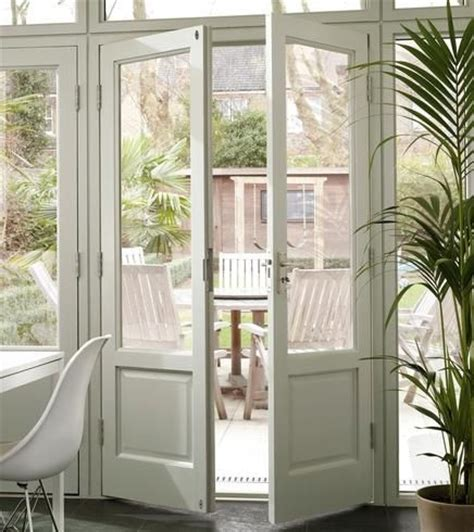 ideas  double french doors  pinterest