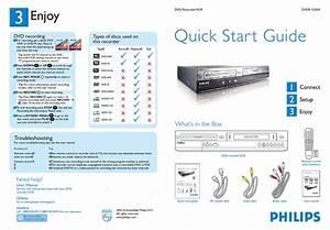 Philips Dvdr3320v  37 Quick Start Manual Pdf Download