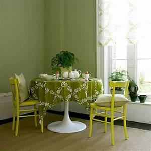 conseil decoration salle a manger vert With salle a manger vert