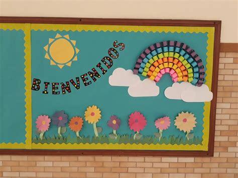 #cartelera #mural #escolar #bienvenida #primaria #colegio