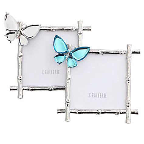 butterfly jeweled frame photo frames decor z gallerie