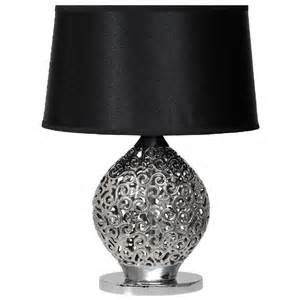 Le De Chevet Argent by Le De Chevet Design Arabesques C 233 Ramique Noir Mw Light