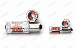 Red H21w  7506 Led Bulb Combo For Bmw F32 F33 F82 4 Series