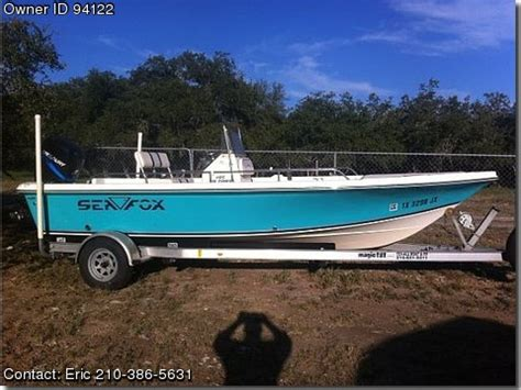 Used Sea Fox Boats For Sale By Owner by 2003 Sea Fox 195 Bayfisher Used Boats For Sale By Owners