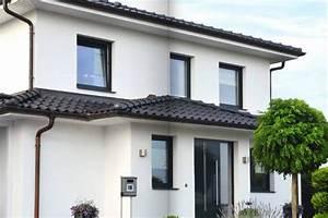 maison moderne blanche et grise chaioscom With maison grise et blanche