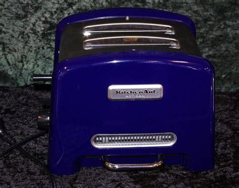 Kitchenaid Toaster Blue by Kitchenaid Artisan Toaster Cobalt Blue Kitchenalia