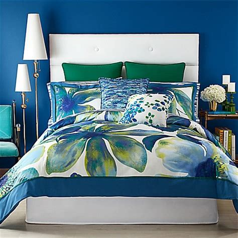 watercolor comforter set buy christian siriano watercolor bloom